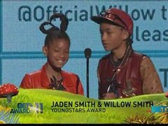 Willow and Jaden Smith win at BET Awards