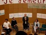 Stéphane Hessel au Lycée André Chanson au Vigan