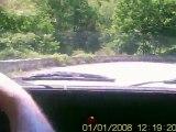 montée historique col de tende, caméra embarquée dans Simca Rallye 2
