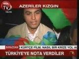 Azerbaycan Turkiyeye BAYRAK NOTASI verdi  Gardas Bayrag na AKP Sayg s zl g  16 10 09
