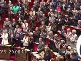 Libération des otages: l'annonce faite à l'Assemblée