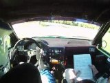 Rallye des bornes 2011 es1 les Bornes Equipage Marechal/Lemaire