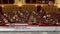 SEANCE,Discours de fin de session parlementaire par le Président du Sénat
