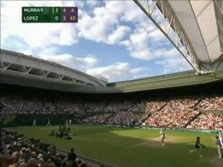 Andy Murray vs Feliciano López QF WIMBLEDON 2011 Last Minutes