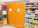 Porte ad avvolgimento - Porte ad impacchettamento - Porte flessibili industriali - Tunnel mobili - Porte a spinta