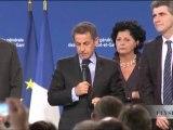 Libération de Stéphane Taponier et Hervé Ghesquières : N. Sarkozy