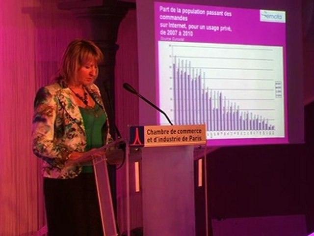 Intervention de Susanne CZECH – EMOTA - Panorama de l'E-commerce en Europe. 22 juin 2011 - 1