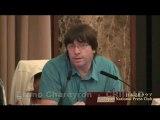 Conférence de presse CRIIRAD au Japon Tokyo (Nucléaire Fukushima)