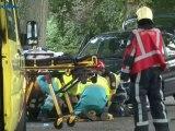 Motorrijder gewond na botsing met auto in Zuidbroek - RTV Noord