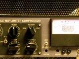 Studio Enregistrement Mixage et Mastering_Studio Amphore Lyon_Manley Vari Mu Overhead Batterie
