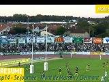 Top14 2012-2013 J5 - Stade Montois-Clermont : le résumé