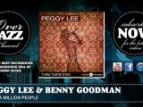 Peggy Lee & Benny Goodman - I See A Million People (1941)