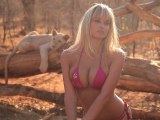 Genevieve Morton in Zambia, SI Swimsuit 2012