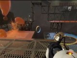 Portal 2 Playthrough Part 21: Mixing Blue Jizz with Orange Jizz is Nasty