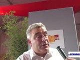 Frédéric Cuvillier (ministre des transports et de l'économie maritime) à la fête de l'huma 2012