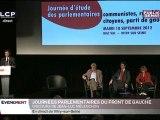 Discours de Jean-Luc Mélenchon aux journées parlementaires du Front de gauche
