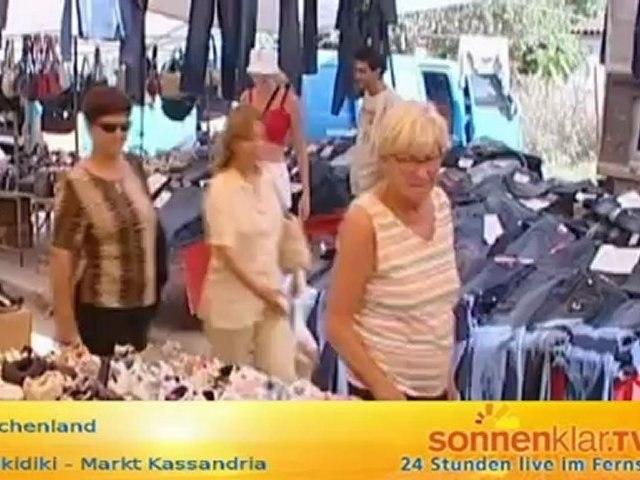 Tipp Chalkidiki - Markt Kassandria