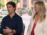 "Entrevsita a Tom Cruise y Cameron Diaz sobre  ""Knight and day"" en Sevilla"