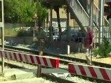 Imprudencia en la estación de Castelldefels