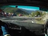 Course de côte du col du Minier caméra embarquée Vincent Savary 2° montée