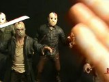 Comparisons of the various Jason Voorhees figures from Mezco Cinema of Fear line