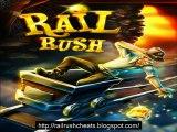 Rail Rush mod apk all tracks heroes tools unlocked - unlimited