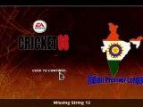 Cricket screen boom boom chicka chicka lol