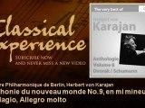 Antonin Dvorak : Symphonie du nouveau monde No.9, en mi mineur, Op. 95 : Adagio, Allegro molto