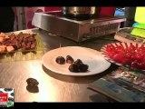 Le BIP et le CDT 47 au Cook Show Agen 2012 présentent Riz au lait Espuma aux Pruneaux