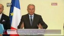 Evénements - Conférence de presse de Jean-Marc Ayrault