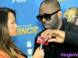 Luther Brown at So You Think You Can Dance Tour Press Junket #SYTYCD @LuBrown