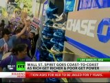 Occupy Los Angeles: 'Banksters ruin our lives & steal our money'