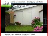 Achat Vente Appartement Champigny sur Marne 94500 - 39 m2