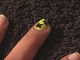 How To Paint Stars Onto Your Nails