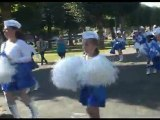 """PARTICIPANTS AU FLASHMOB FESTIVAL """" LES MAINS BLEUES """" 2012"""