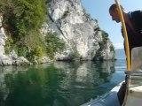 site plongée lac du bourget grande cale deep CCR tartiflette team
