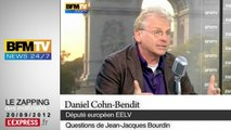 """OGM: """"On avait traité les écolos d'anti-scientifiques"""", déplore Cohn-Bendit"""