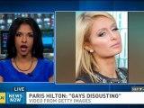 Paris Hilton defends 'gay guys' comment