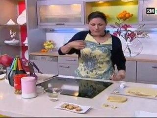 petit four marocain choumicha mignardises au pavot et chocolat