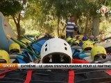 Extrême : Le Liban s'enthousiasme pour le rafting