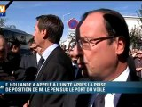 """Vincent Peillon sur Marine Le Pen : """"C'est la première des intégristes"""""""