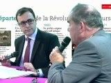 82e congrès de l'ADF : Georges Labazee, Président du conseil général des Pyrénées-Atlantiques et Jean-Yves Dusserre, Président du conseil général des Hautes-Alpes