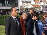 Hollande opens Jewish memorial centre in Drancy