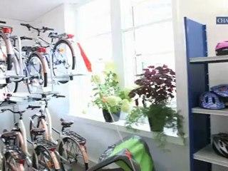 Chartres: la maison du vélo ouvre ses portes.