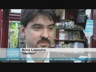 La cigarette électronique dans le Mag de la Sante sur France 5