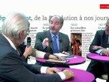 82e congrès de l'ADF : Bruno Sido, Président du conseil général de la Haute-Marne, Eric Doligé, Président du conseil général du Loiret et Hermeline Malherbe-Laurent, Président du conseil général des Pyrénées-Orientales