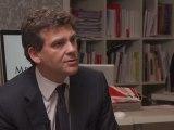 En direct de Mediapart : Montebourg et l'état social de la France