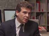 En direct de Mediapart : Montebourg interrogé sur le Crédit immobilier de France
