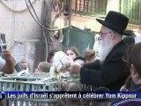 Les juifs d'Israël s'apprêtent à célébrer la fête du Yom Kippour