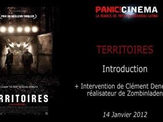 Panic Cinéma - TERRITOIRES - Introduction + Présentation de ZOMBINLADEN par Clément Deneux